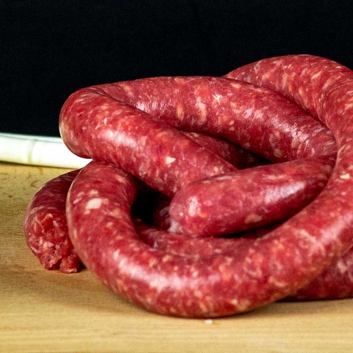 Leone Carni, Salsiccia Bovina al Porro Cervere®